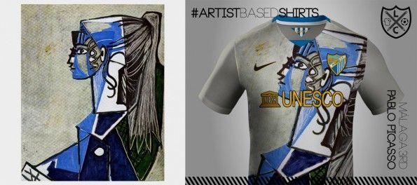 Maglia Malaga Nike Picasso