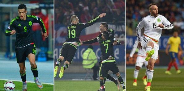Divise Messico 2015 Coppa America