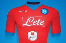 Maglia rossa Napoli 2015-2016