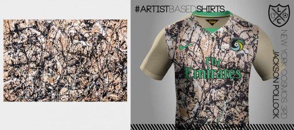 Maglia New York Cosmos Nike Pollock
