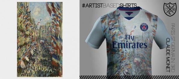 Maglia PSG Nike Monet