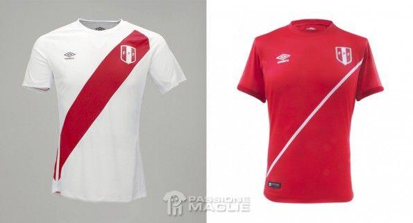 Maglie Perù 2015 Coppa America Umbro