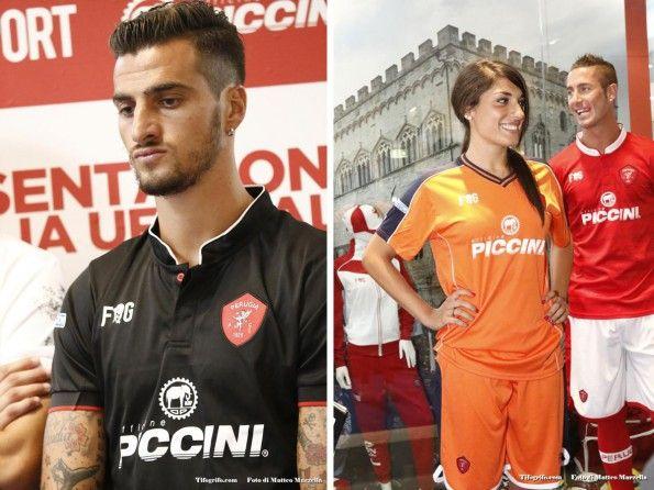 Perugia, 2015-2016, maglie third e portiere