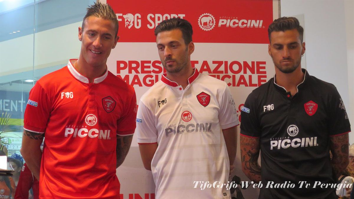 Perugia, maglie 2015-2016 FG Sport
