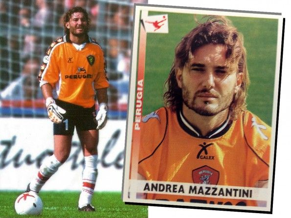 Perugia, maglia portiere, Galex, anni 2000, Andrea Mazzantini