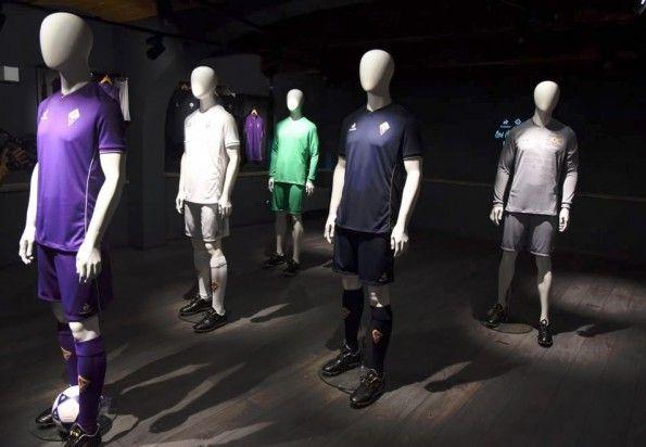 Presentazione maglie Fiorentina 2015-2016
