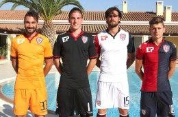 Presentazione maglie Cagliari 2015-2016