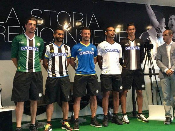 Presentazione maglie Udinese 2015-2016