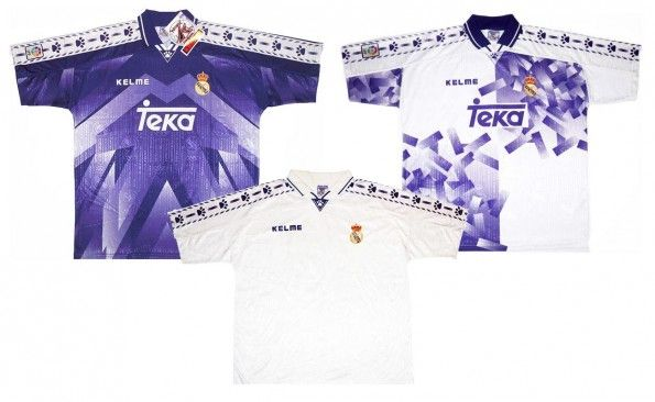 Maglie Real Madrid 1996-1997