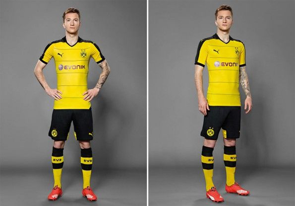 Marco Reus kit BVB home 2015-16 Puma