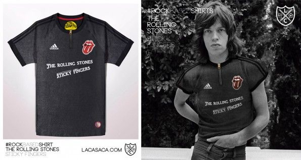Maglia The Rolling Stones Sticky Fingers