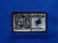 Etichetta QR code Sampdoria Joma
