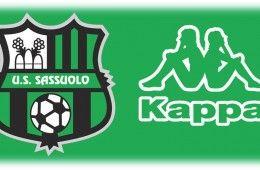 Kappa sponsor tecnico Sassuolo