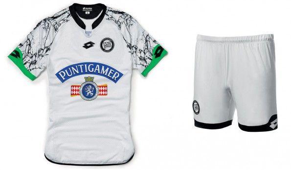 Sturm Graz seconda maglia 2015-2016 bianca