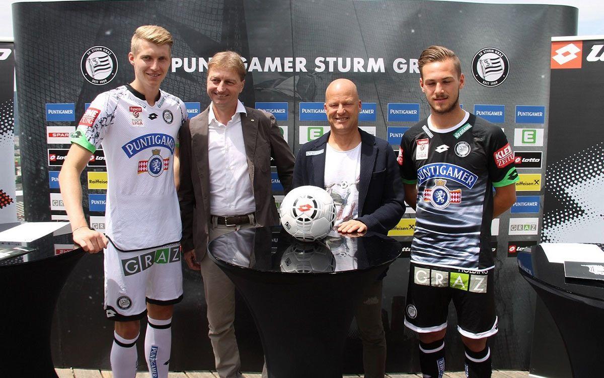 Presentazione maglie Sturm Graz 2015-2016