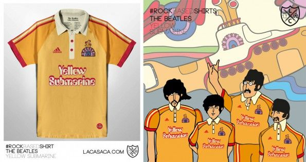 Maglia The Beatles Yellow Submarine