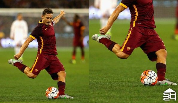 Francesco Totti (AS Roma) - Nike Tiempo Legend V custom