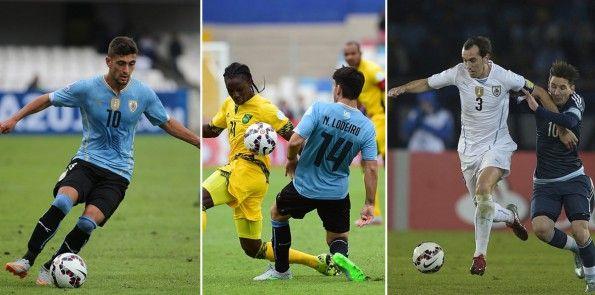 Uruguay kit Copa America 2015