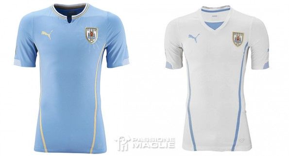 Maglie Uruguay Coppa America 2015 Puma