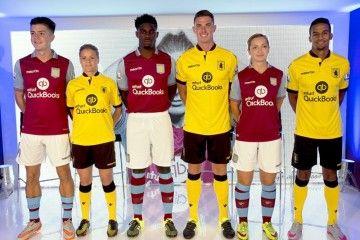 Presentazione kit Aston Villa 2015-2016