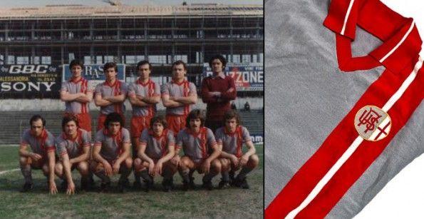 Alessandria Calcio 1976-1977 maglia