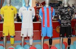 Maglie Catania Calcio 2015-2016