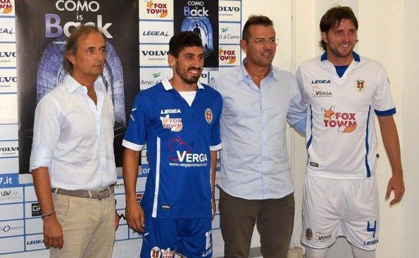 Presentazione maglie Como Calcio 2015-2016