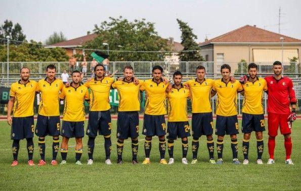 Divisa Modena home gialla 2015-2016