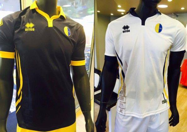 Seconda e terza maglia Modena 2015-2016