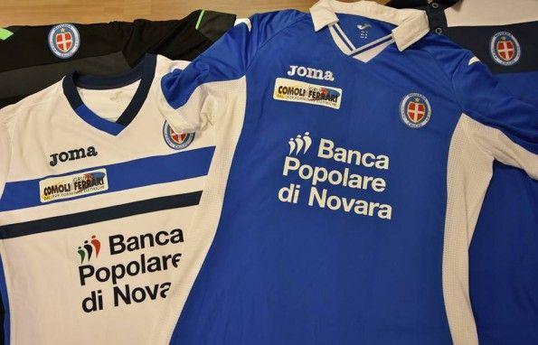 Maglie Novara Serie B 2015-2016