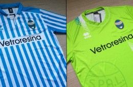 SPAL nuove maglie Errea
