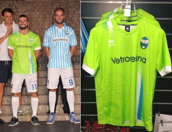 Seconda maglia SPAL 2015-2016 verde