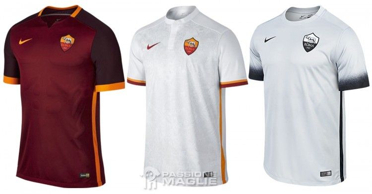 Maglie AS Roma 2015-2016 Nike