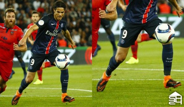 Edinson Cavani (Paris Saint-Germain) - Nike HyperVenom Phantom II Tech Craft