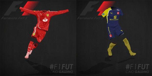 Maglia F1 Ferrari e Sauber
