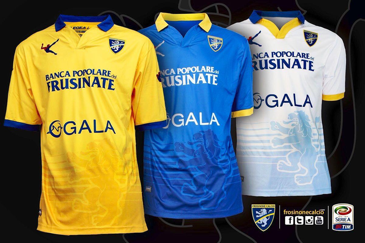 Maglie Frosinone 2015-2016 Serie A