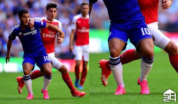 Eden Hazard (Chelsea) - Nike Mercurial Vapor