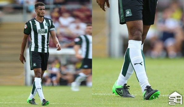 Curtis Nelson (Plymouth Argyle) - Nike Tiempo Legend V Tech Craft