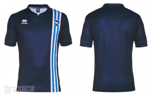 Seconda maglia Pescara 2015-2016 blu