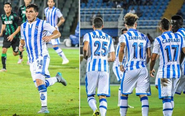 Divisa Pescara casa 2015-2016 biancazzurra