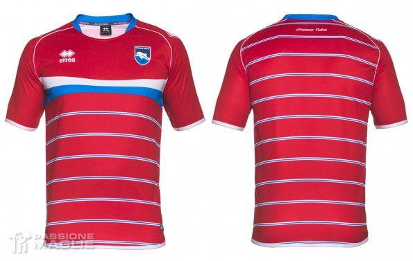 Pescara terza maglia rossa 2015-2016