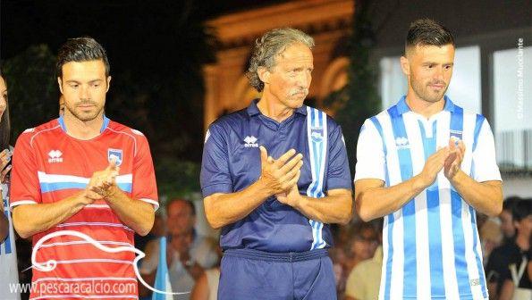 Presentazione maglie Pescara Calcio 2015-2016