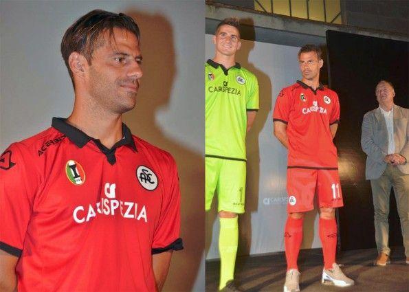 Spezia Calcio, terza maglia rossa 2015-2016