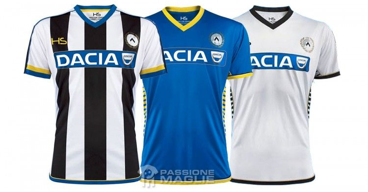 Maglie Udinese Serie A 2015-2016