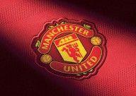 Manchester United stemma ricamato maglia home