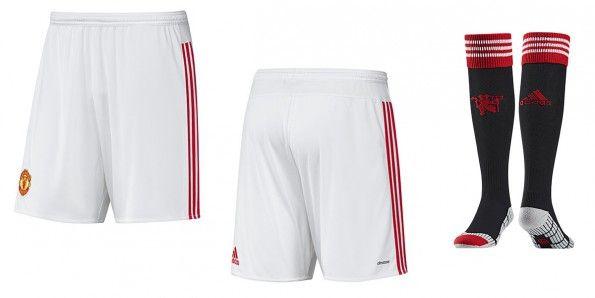 Pantaloncini calzettoni Manchester United home 2015-16