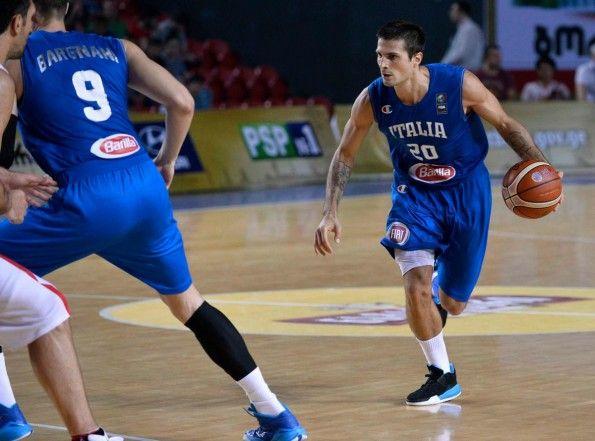 Canotta Italia basket 2015 Europei home