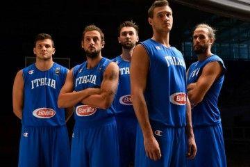 Presentazione maglia Italia basket Europei 2015