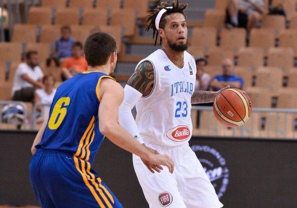 Seconda maglia Italia basket bianca 2015
