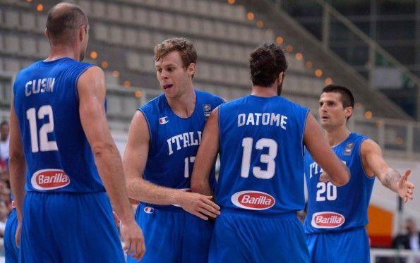 Font nomi numeri maglia Italia basket 2015